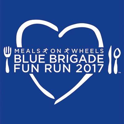 Blue Brigade Run logo