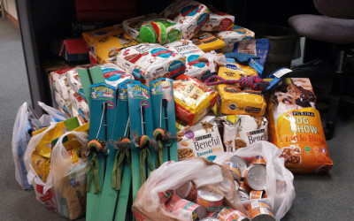Employees & Families of HAMMER facility & Mission Support Alliance donate to our pet program