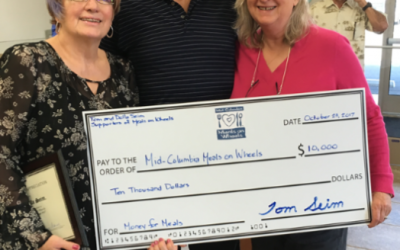 Meals on Wheels receives $10,000 matching donation