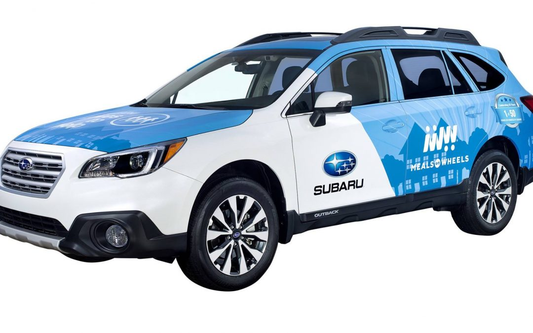 Meals on Wheels – 2018 Subaru Outback Donation Event